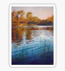 'Evening Reflections' - Goulburn River Sticker