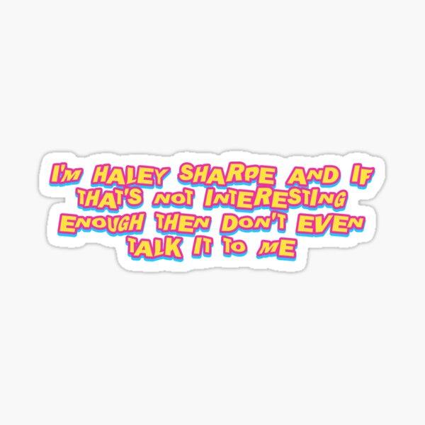 haley sharpe (freakshow pack) Sticker