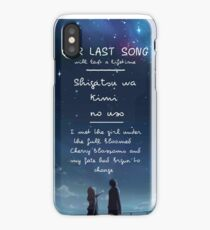 Your Lie in April iPhone Case/Skin