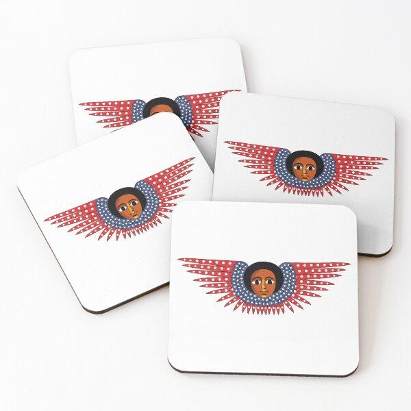 Ethiopian Angel Coasters (Set of 4)