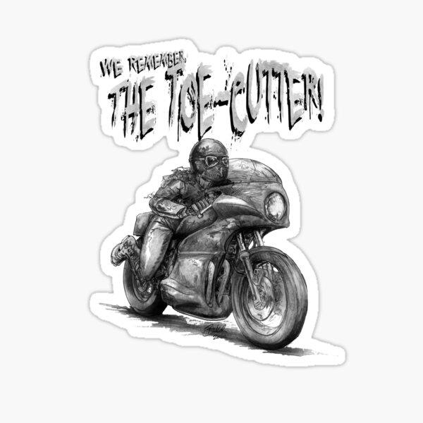 The Toe-Cutter Sticker