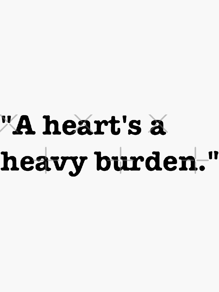 Un corazón es una carga pesada de design880