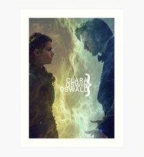 Clara Oswin Oswald Art Print