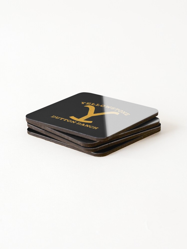 Alternate view of Yellowstone Dutton Ranch Montana Coasters (Set of 4)