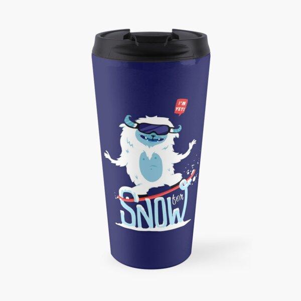 Yeti for Snow Travel Mug