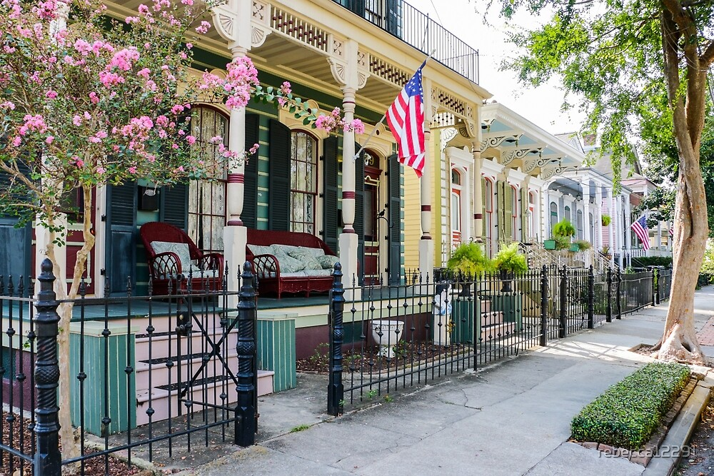 New Orleans Historic Houses by rebecca12291