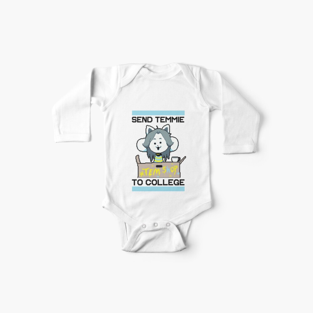 Send Temmie To College! Baby One-Piece