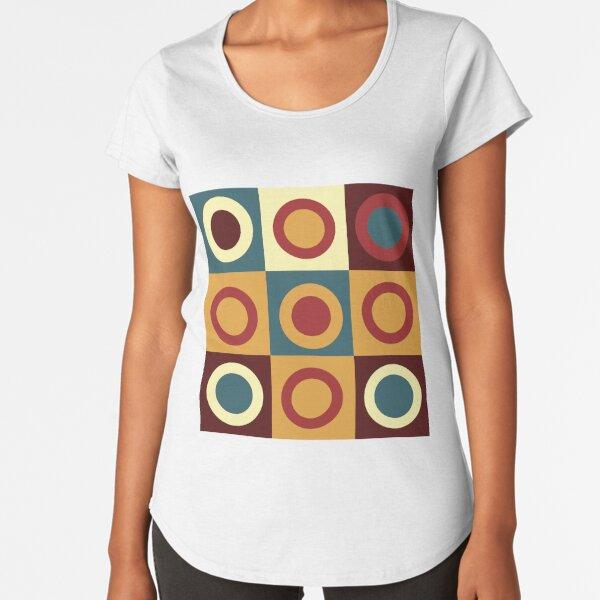 abstract Premium Scoop T-Shirt