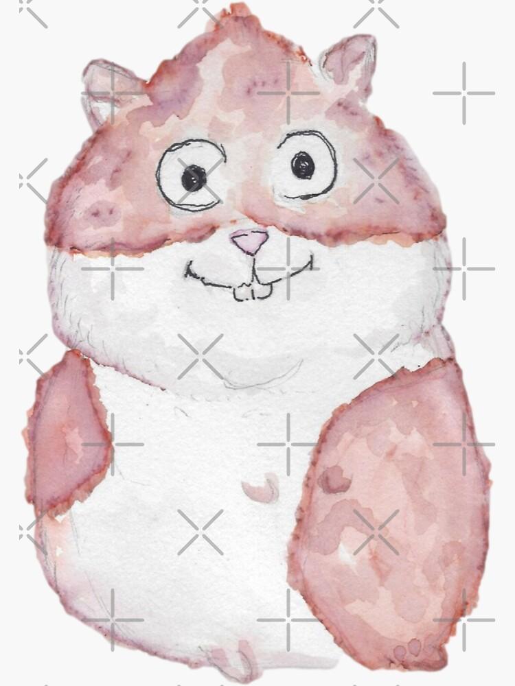 HammyHam the Hamster by ArtChildGalore