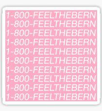 Feel the Bern - Bernie Sanders Sticker