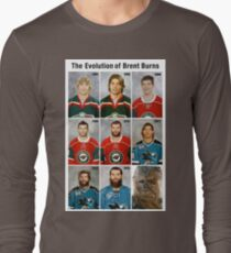 The Evolution of Brent Burns Long Sleeve T-Shirt