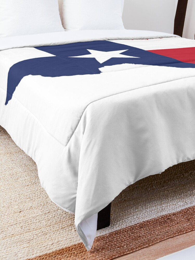 Alternate view of Texas Comforter