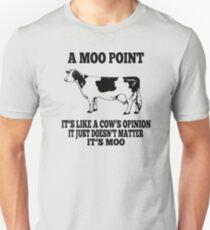 Friends Moo Point Unisex T-Shirt