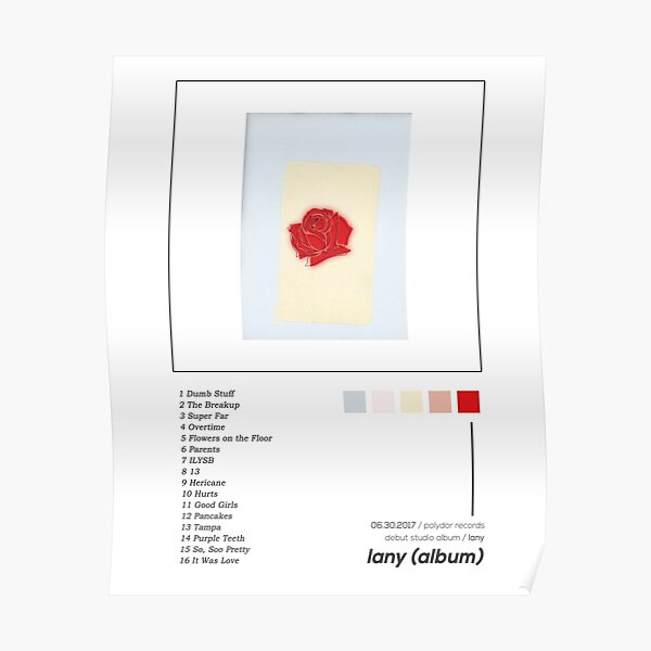 LANY Lany Album Cover Poster Poster