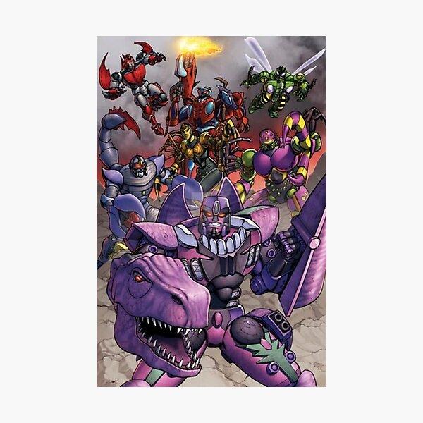 Predacons - Beast Wars Transformers Photographic Print