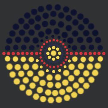 Umbreon Pokeball by 8-Bit-Wonder