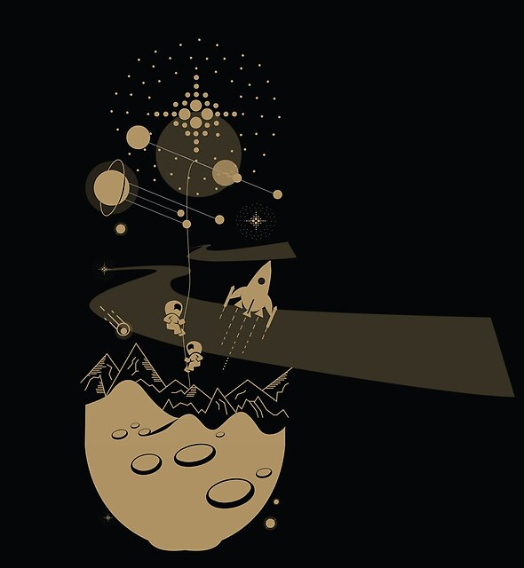 Golden Universe by Wybranska