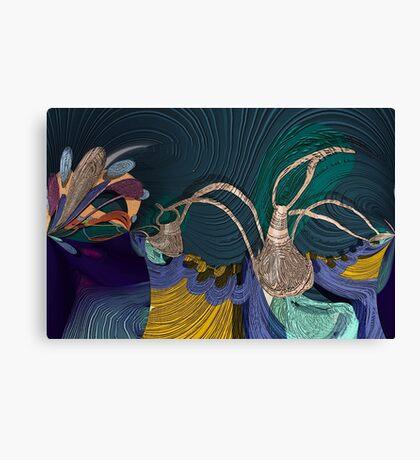 Still life with Kohlrabi Canvas Print