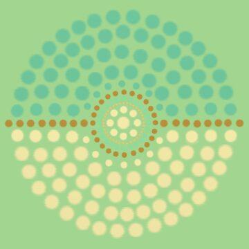 Leafeon Pokeball by 8-Bit-Wonder