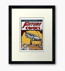 Future Comics Framed Print