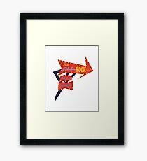 Visit Fabulous Hook Isle Framed Print