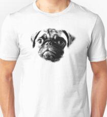 Carlin Vie Chien Grincheux Drôle Citation Humour Chien Drôle T-Shirt Top Hommes Femmes Unisexe