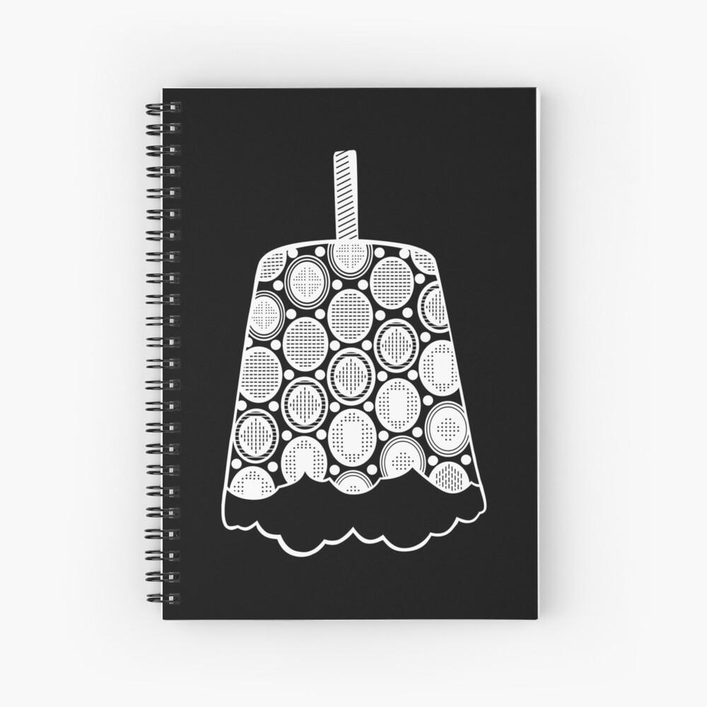 Endemik Music Logo - White Spiral Notebook