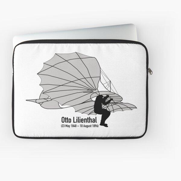 Otto Lilienthal - Glider King Segelflugzeugkönig Laptop Sleeve