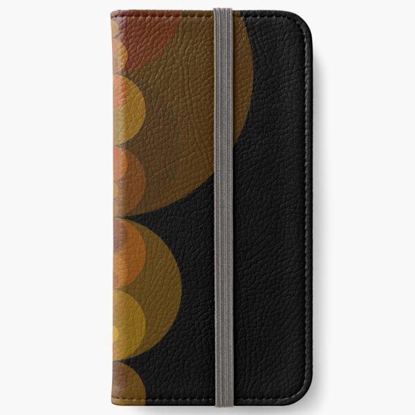 Circle Patterns 2 iPhone Wallet