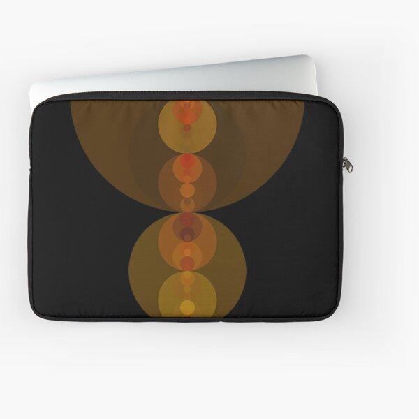 Circle Patterns 2 Laptop Sleeve