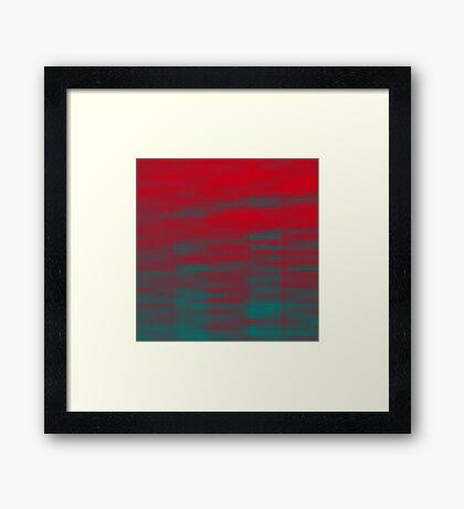 Modern Love Framed Print