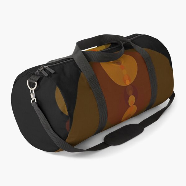 Circle Patterns 2 Duffle Bag