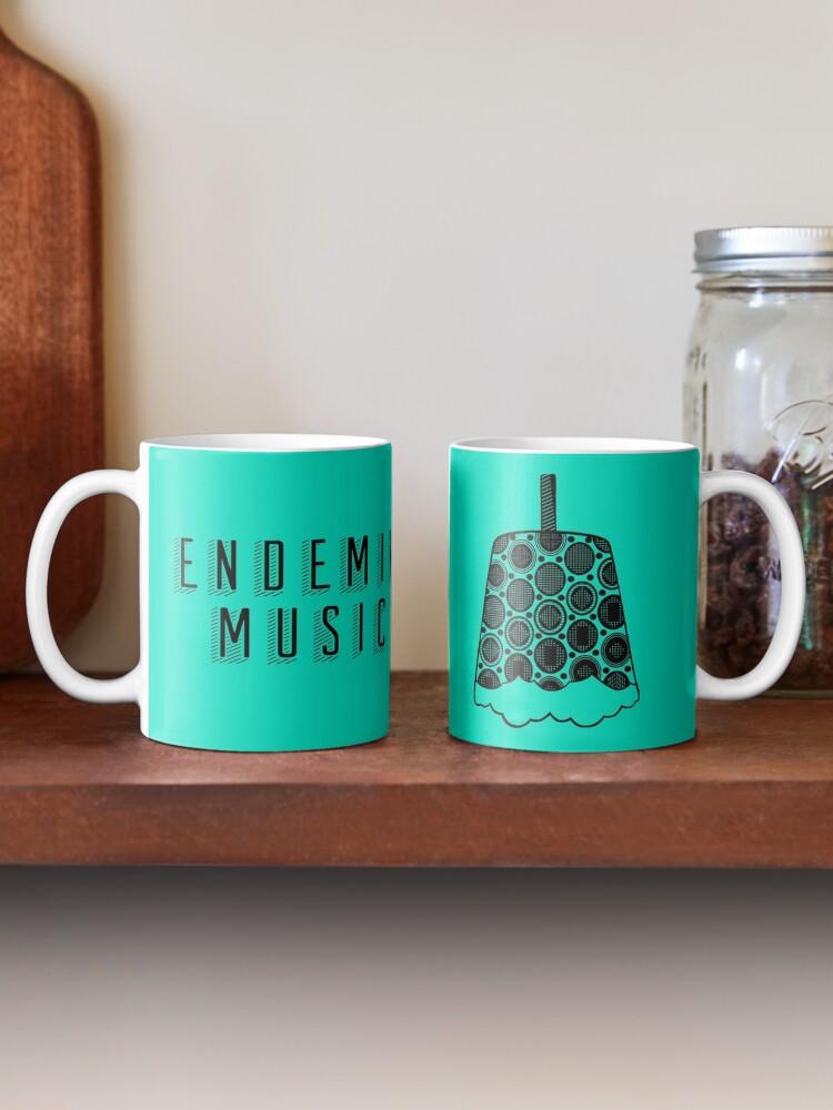 Alternate view of Endemik Music Logo - Black Mug