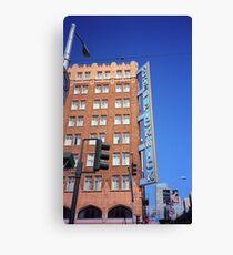 San Francisco Hotel Pickwick Canvas Print