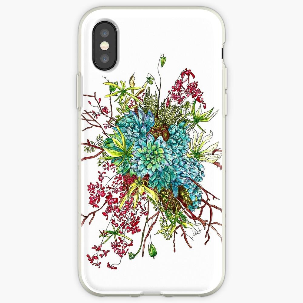 Succulents & Orchids iPhone Case & Cover
