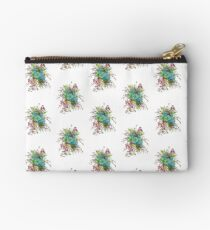 Succulents & Orchids Zipper Pouch