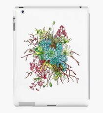 Succulents & Orchids iPad Case/Skin