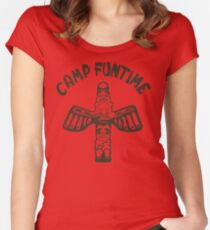 Blondie Camp Funtime Women's Fitted Scoop T-Shirt