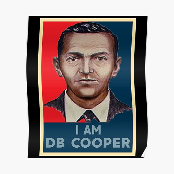I'M DB COOPER Poster