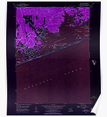 New York NY Quogue 136003 1956 24000 Inverted Poster