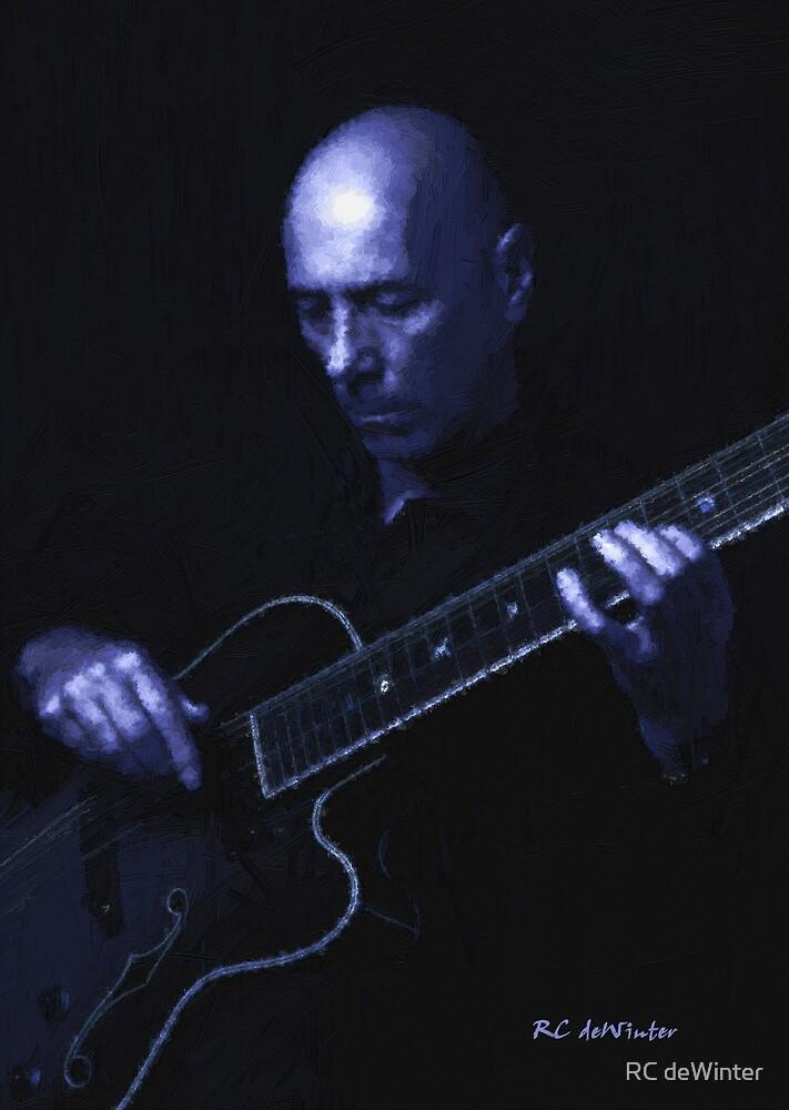 Jazz in Blue by RC deWinter