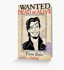 Flynn Rider Greeting Card