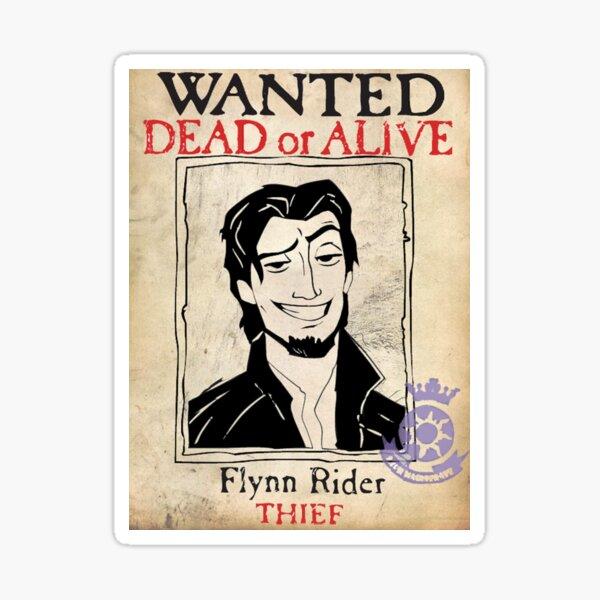 Flynn Rider Pegatina