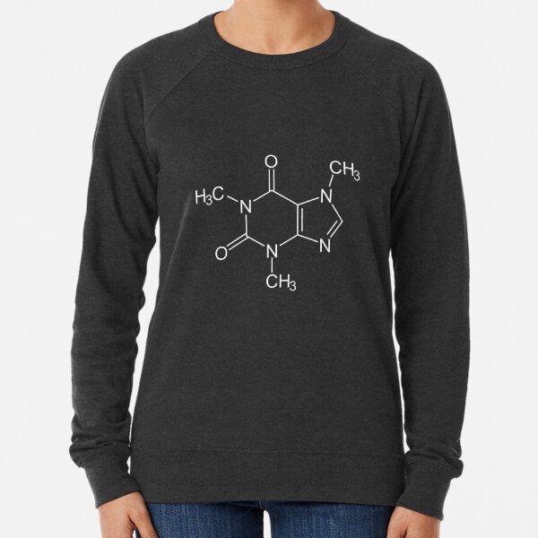 Caffeine Molecule Lightweight Sweatshirt