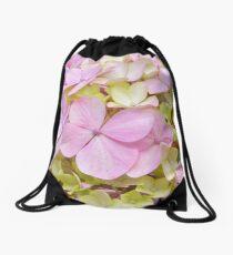 Hydrangeas Drawstring Bag