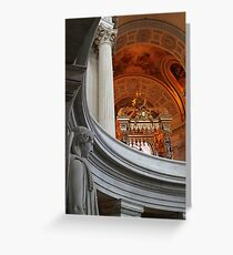 Invalides Greeting Card