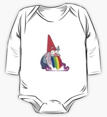 Gravity Falls- Barfing Gnome One Piece - Long Sleeve
