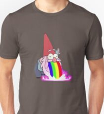 Gravity Falls- Barfing Gnome Slim Fit T-Shirt