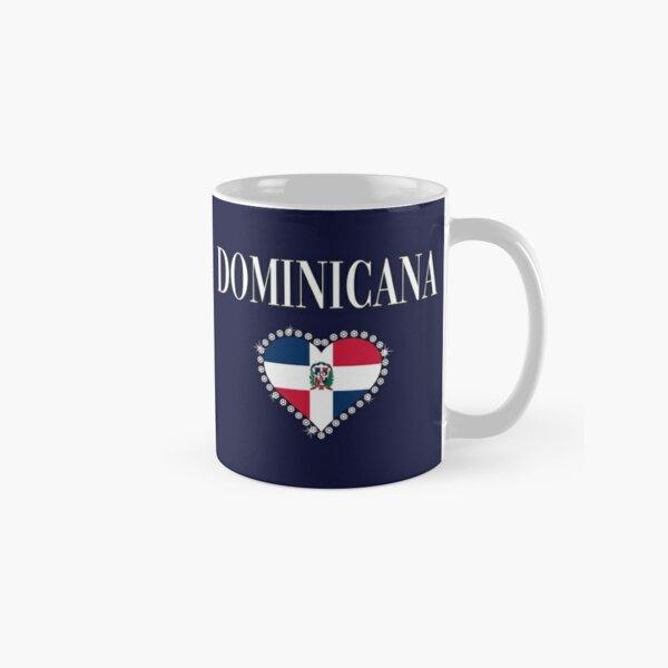 Women Camiseta Dominicana Republica Dominicana Girl Heart  Classic Mug