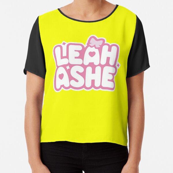 Leah Ashe Army Roblox YELLOW Chiffon Top